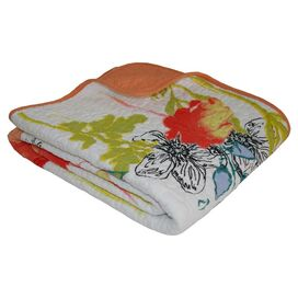 Watercolor Dream Cotton Throw