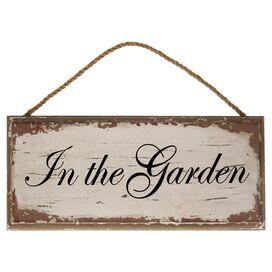 In the Garden Wall Decor