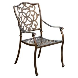 Pamplona Patio Arm Chair (Set of 2)