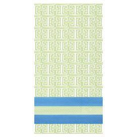 Blue Garden Towel (Set of 16)