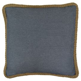 Kaya Pillow in Slate Blue