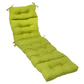 Kelly Indoor/Outdoor Chaise Cushion in Kiwi