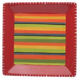 "Hot Tamale 16.5"" Square Platter"