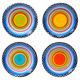 Sunrise Canape Plate (Set of 4)