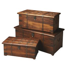 3-Piece Eddison Trunk Set