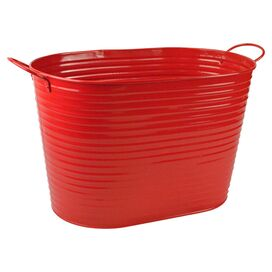 Stacey Tub in Candy Apple Red