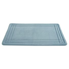 Geoplex Bath Mat in Blue