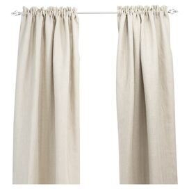 Penny Curtain Panel in Off-White