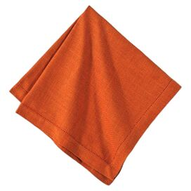 Topsham Napkin in Burnt Orange (Set of 6)
