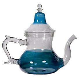 Fatima 1-Quart Teapot in Blue