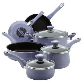 Farberware 12-Piece New Traditions Cookware Set in Lavender