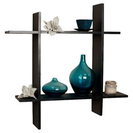 Aravind Wall Shelf in Black