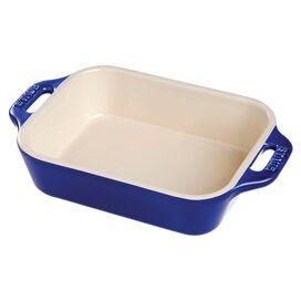 Staub Baking Dish in Dark Blue