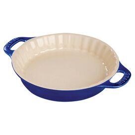 Staub Pie Dish in Dark Blue