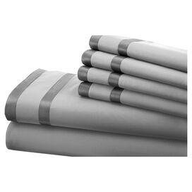 6-Piece Veronica Sheet Set in Silver