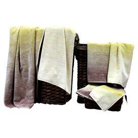 6-Piece Brianna Towel Set in Sand Dunes