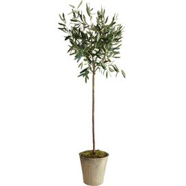 "Faux Mini 17"" Olive Tree"