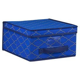 Anna Storage Box in Cobalt