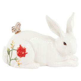 Springtime Rabbit Statuette