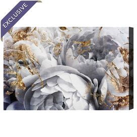 Her Peony Garden Canvas Print, Oliver Gal