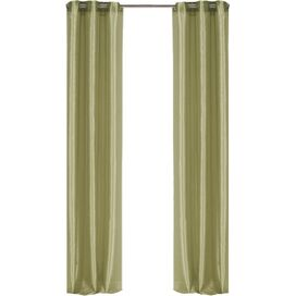 Justine Curtain Panel in Sage (Set of 2)