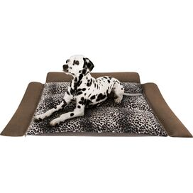 Leopard Pet Car Mat