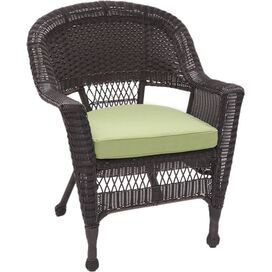 Emerson Patio Arm Chair in Green (Set of 2)