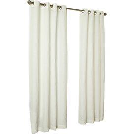 Malibu Curtain Panel in White
