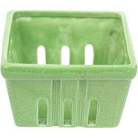 Fiona Berry Basket in Green