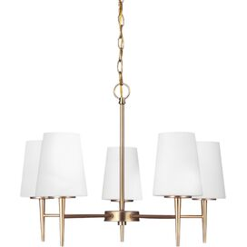 Hepburn Chandelier in Satin Bronze