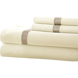 400 Thread Count Egyptian Cotton Sheet Set in Pristine