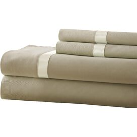 400 Thread Count Sheet Set in Taupe