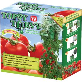 Mallory Hanging Tomato & Herb Planter