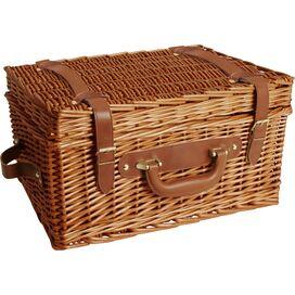 Clemence Wicker Picnic Basket