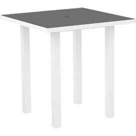 Madoc Patio Table in Slate Grey