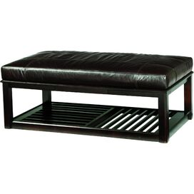 Pullman Leather Bench