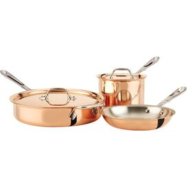 All-Clad 5-Piece Copper Cookware Set