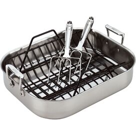 All-Clad Stainless Steel Roasting Set