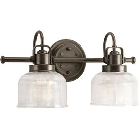 Trista 2-Bulb Vanity Light in Venetian Bronze