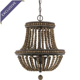 Lenox Park 3-Light Chandelier in Tobacco