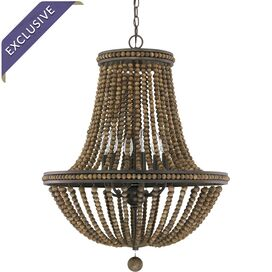 Lenox Park 6-Light Chandelier in Tobacco