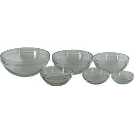 6-Piece Crystal Mixing Bowl Set