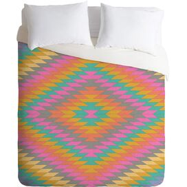 Ancient Rainbow Duvet Cover