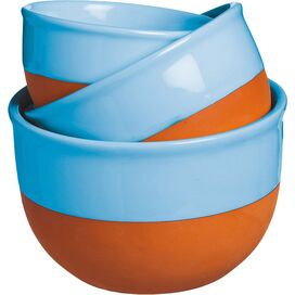 3-Piece Marian Bowl Set in Blue
