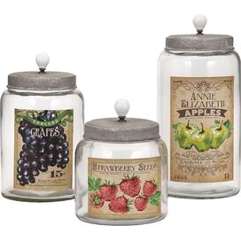 3-Piece Bailey Jar Set