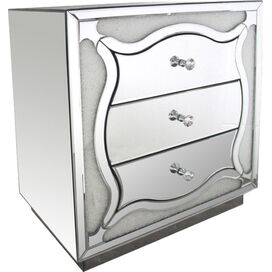 Georgina Mirrored Nightstand