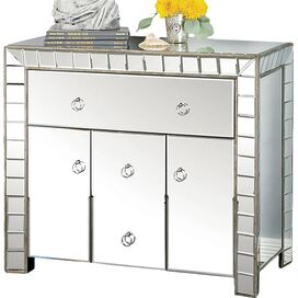 Alaina Mirrored Cabinet