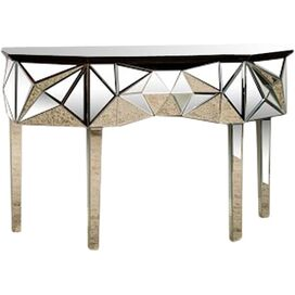 Kimberly Mirrored Console Table