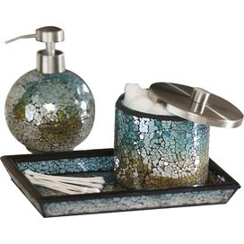 3-Piece Maya Bath Accessories Set in Multi