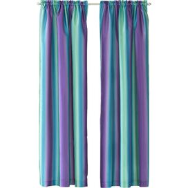 Rainbow Ombre Curtain Panel in Purple